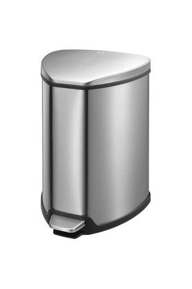 ERROR BRAND Brushed Stainless Steel Step Bin - 9l