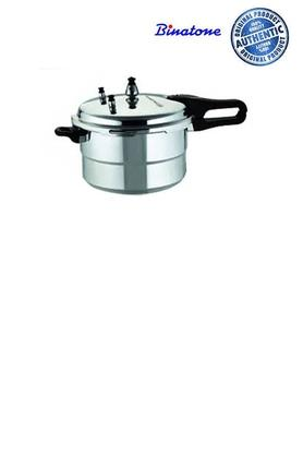 BLACK PANTHER Stainless Steel Pressure Cooker With Lid - 5lt
