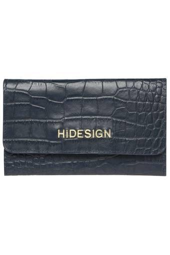 HIDESIGN -  Mid BlueWallets & Clutches - Main