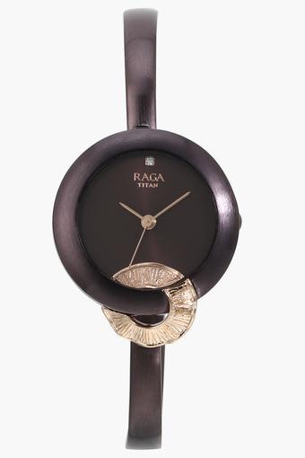 0c60c4c794d43 Raga Metallic Analogue Watch - 95051KM01