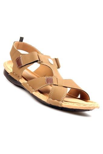 Mens PU Velcro Closure Sandals
