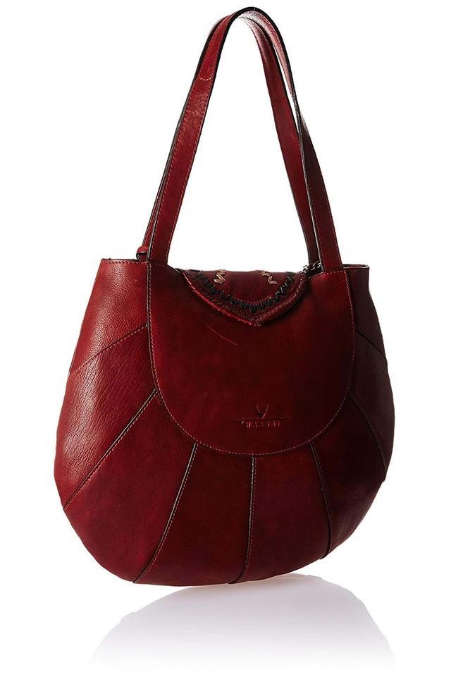 Womens Metallic Lock Closure Tote Handbag