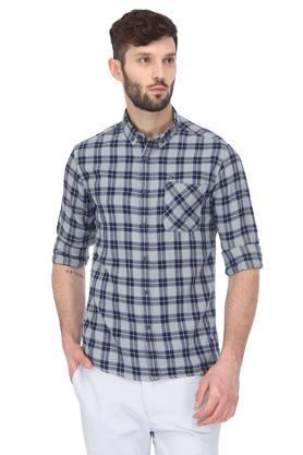 Mens Button Down Collar Shirt
