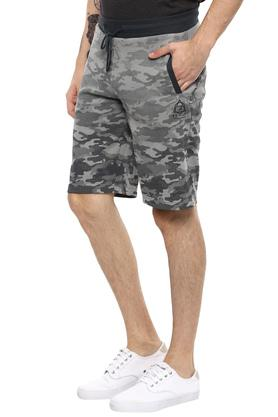 Mens 2 Pocket Camouflage Shorts