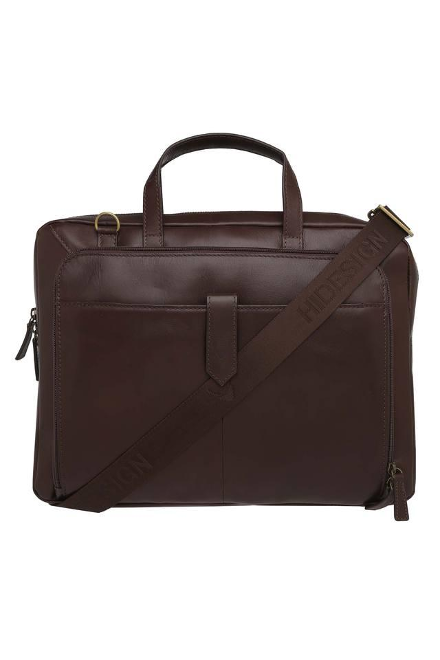Unisex Zip Closure Laptop Briefcase
