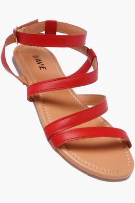 LAVIEWomens Casual Wear Buckle Closure Flats - 202520365_9607