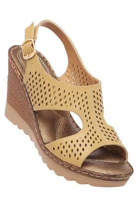 CATWALK Womens Casual Wear Buckle Closure Wedges - 203838227_9111