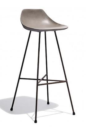 Grey Faye Bar Chair