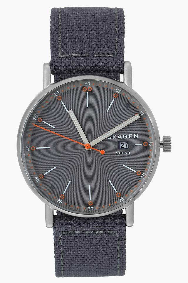 Mens Grey Dial Analogue Watch - SKW6452I