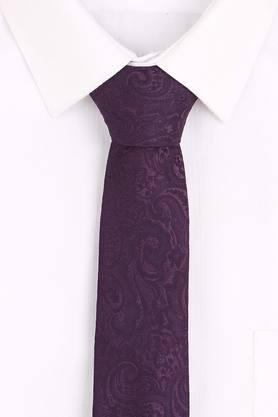 Mens Paisley Tie with Cufflinks and Pocket Square
