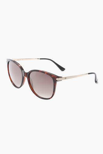Womens Square Polycarbonate Sunglasses - 2164 C2 S