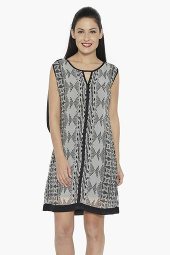 Short Stop Womens Buy Shoppers Printed Soie Dress wATtCFzq