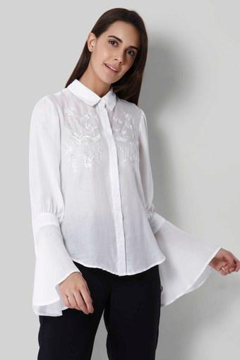 VERO MODA -  Off WhiteShirts - Main