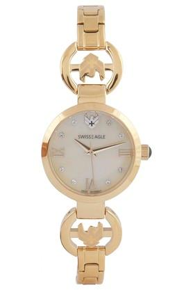 Womens Gold Dial Analog Watch SE-9115-44