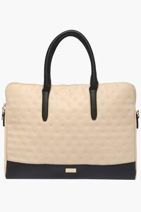 ALLEN SOLLYWomens Casual Wear Zipper Closure Tote Handbag - 202801125