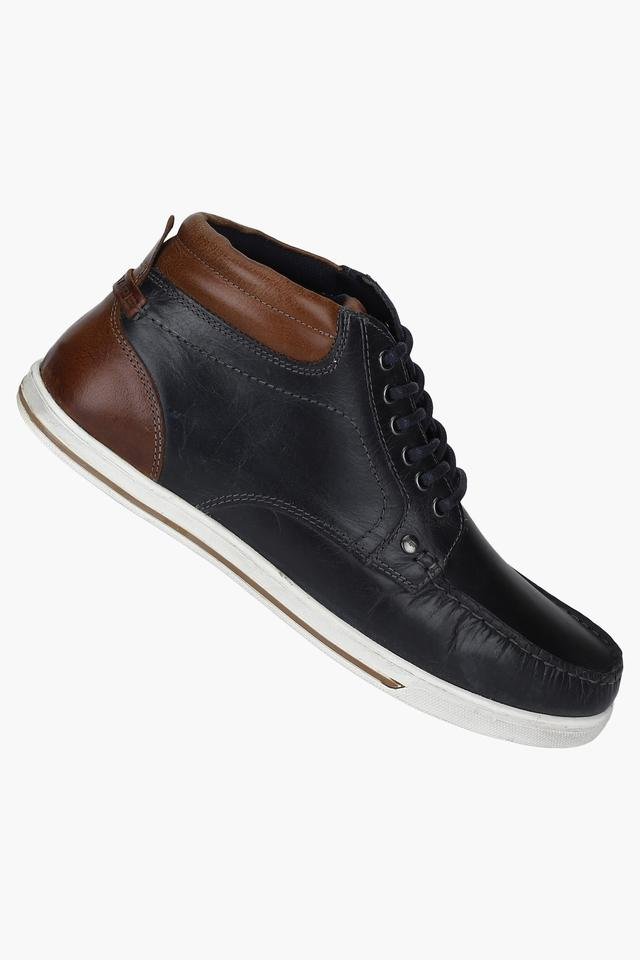 Mens Lace Up Boat Shoes
