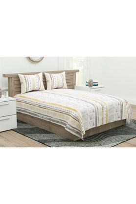 Printed Extra Large Bedsheet with Pillow Covers