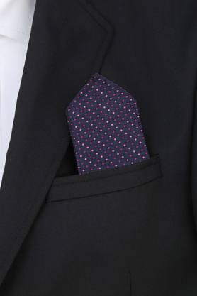 Mens Printed Formal Tie with Cufflinks and Pocket Square