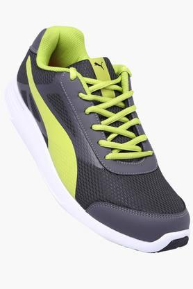 PUMA Mens Mesh Lace Up Sports Shoe