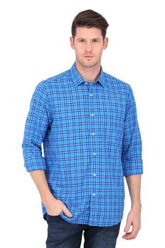 COLOR PLUS -  BlueCasual Shirts - Main