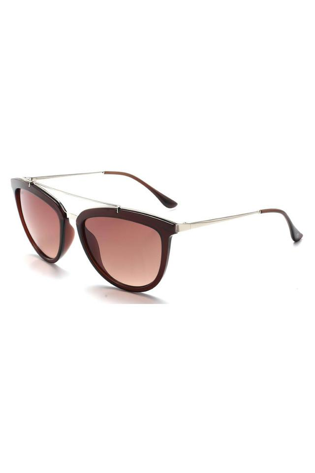Womens Full Rim Cat Eye Sunglasses - 2910PC C3 S