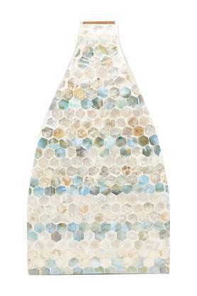 Blue Mix Printed Vase