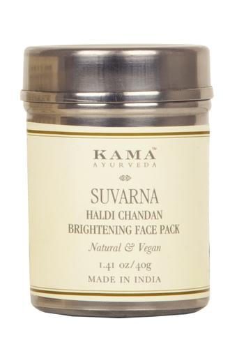 Suvarna Haldi Chandan Bright Face Pack - 40 GM