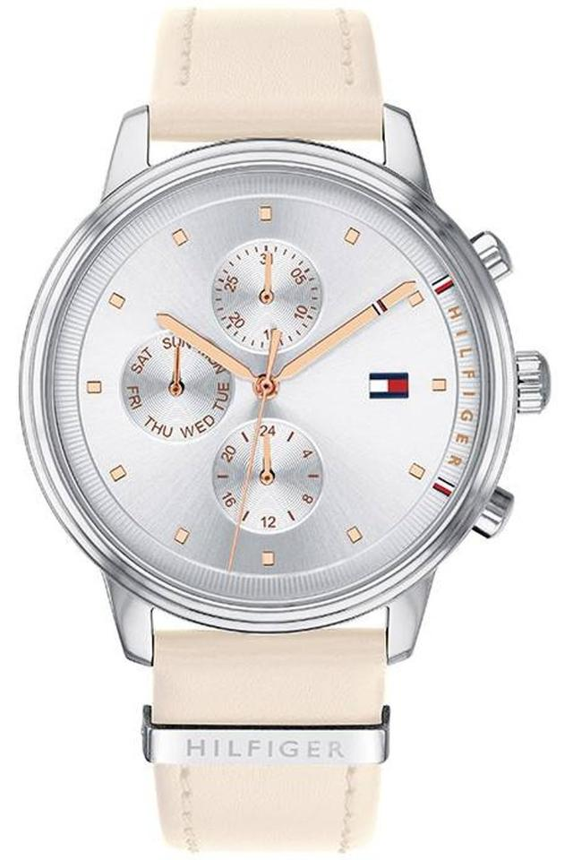 Womens Chronograph Leather Watch