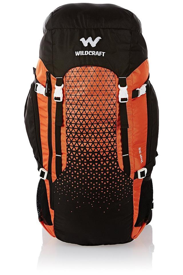 Unisex Buckle Closure Rucksack Backpack