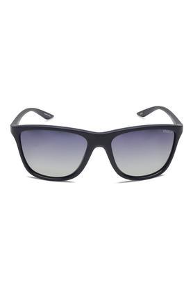 Mens Wayfarer UV Protected Sunglasses - NIDS2463C7PSG
