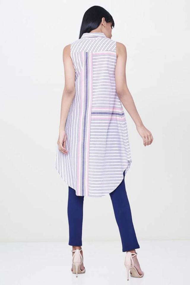 Womens Striped Tunic