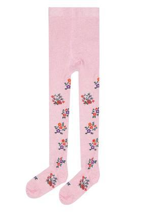 Girls Printed Tights