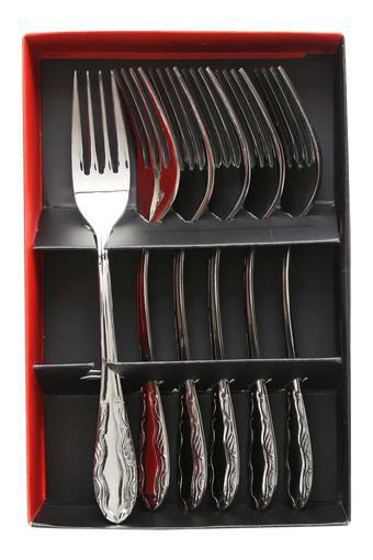 Stainless Steel Perth Dessert Fork Set of 6