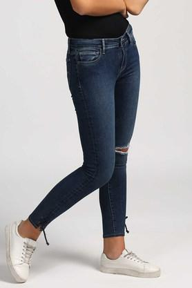 Womens Knee cut Jeans