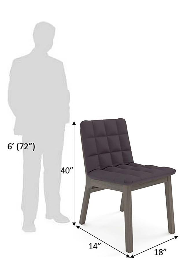 Purple Wicke Chair