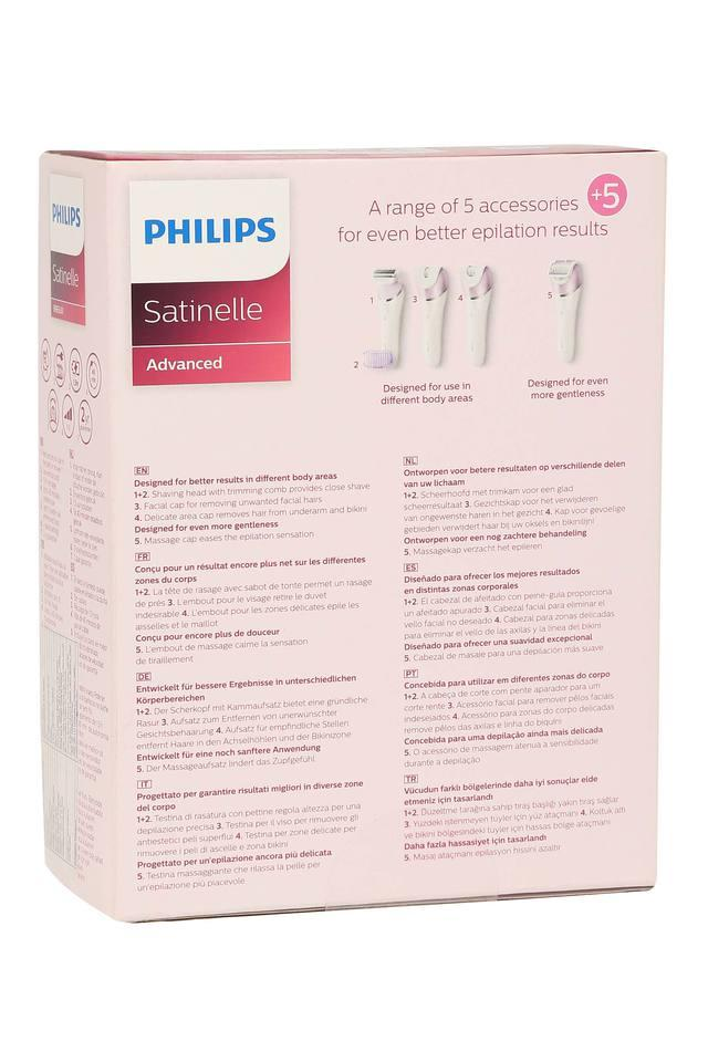 Wet and Dry Satinelle Epilator