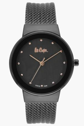 Womens Analogue Grey Dial Metallic Watch - LC06472650