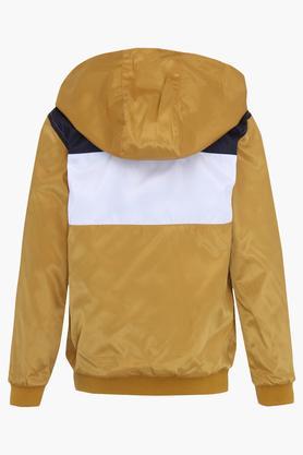 Boys Hooded Slub Jacket