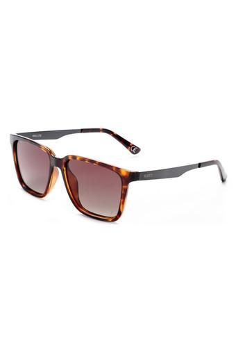 Mens Full Rim Square Sunglasses - 2204 C1 S