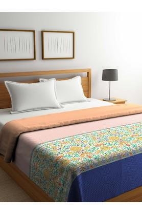 PORTICO Floral Printed Double Comforter