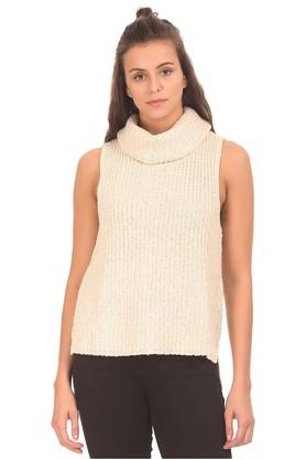 AEROPOSTALE Womens Turtle Neck Knitted Sweater