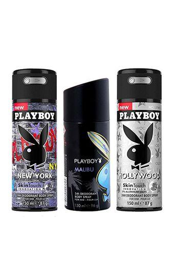 PLAYBOY -  No Colour Deodorants - Main