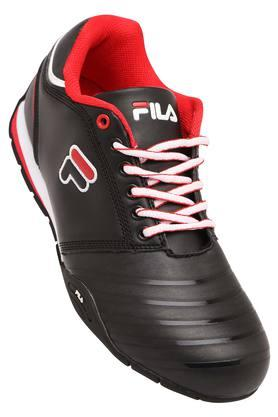 FILA Mens Leather Lace Up Sports Shoes