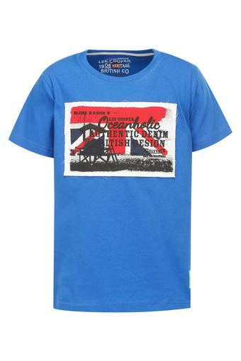 LEE COOPER KIDS -  Royal Blue Topwear - Main