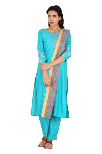KASHISH -  Blue Salwar & Churidar Suits - Main
