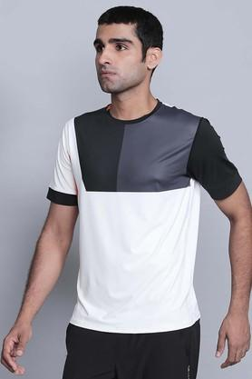 PROWL Mens Round Neck Colour Block T-Shirts