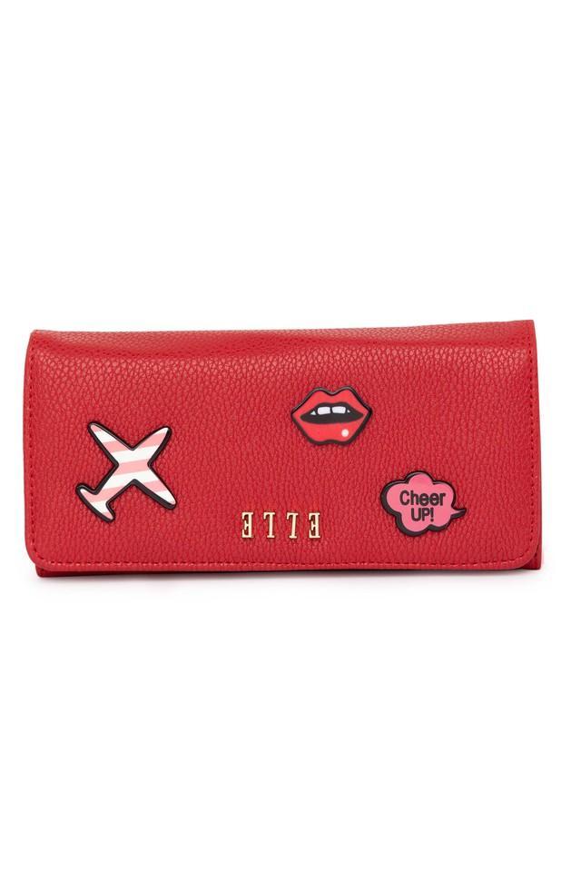 Womens Snap Closure Wallet