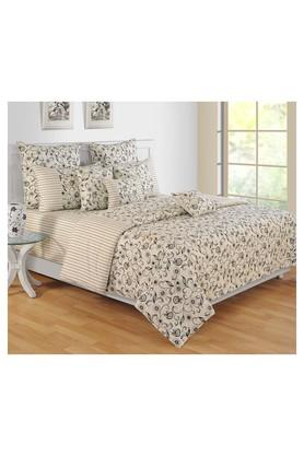 SWAYAMPrinted Double Winter Bed Quilt