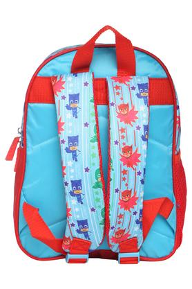 Unisex Mask 2 Compartment Zip Closure Backpack