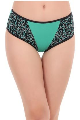 Womens Solid Hipster Briefs